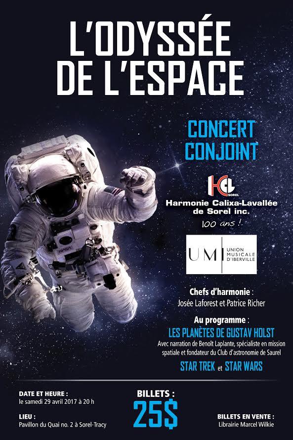 Concert Odyssée espace